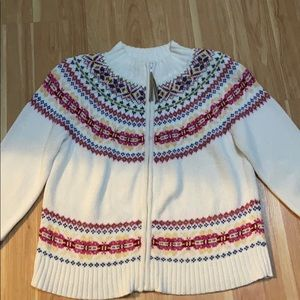 Mountain Lake sweater jacket